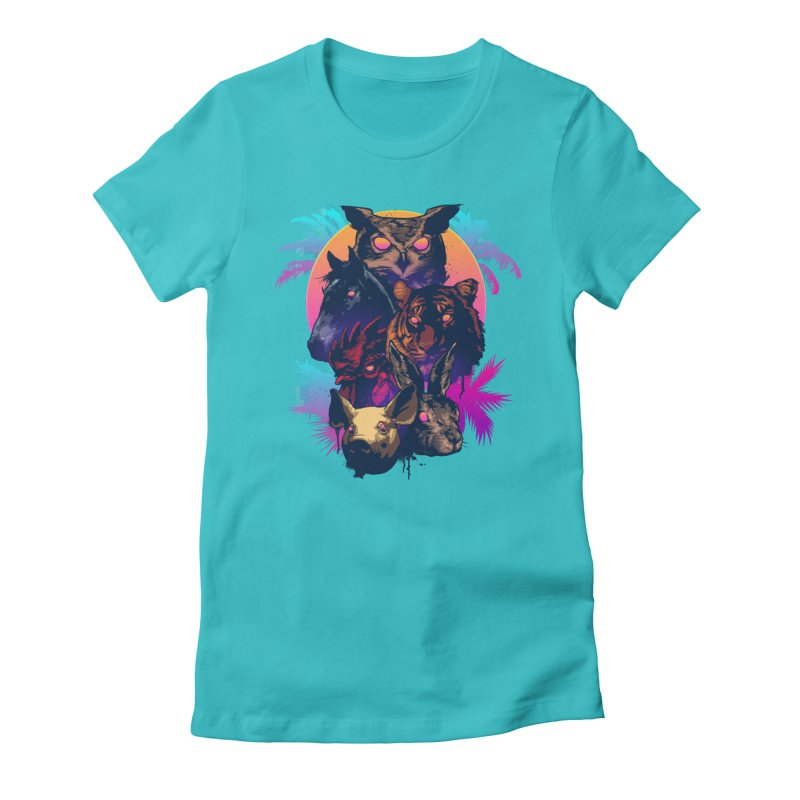 Hotline Miami Women's T-Shirt by Signalnoise Threadless Store