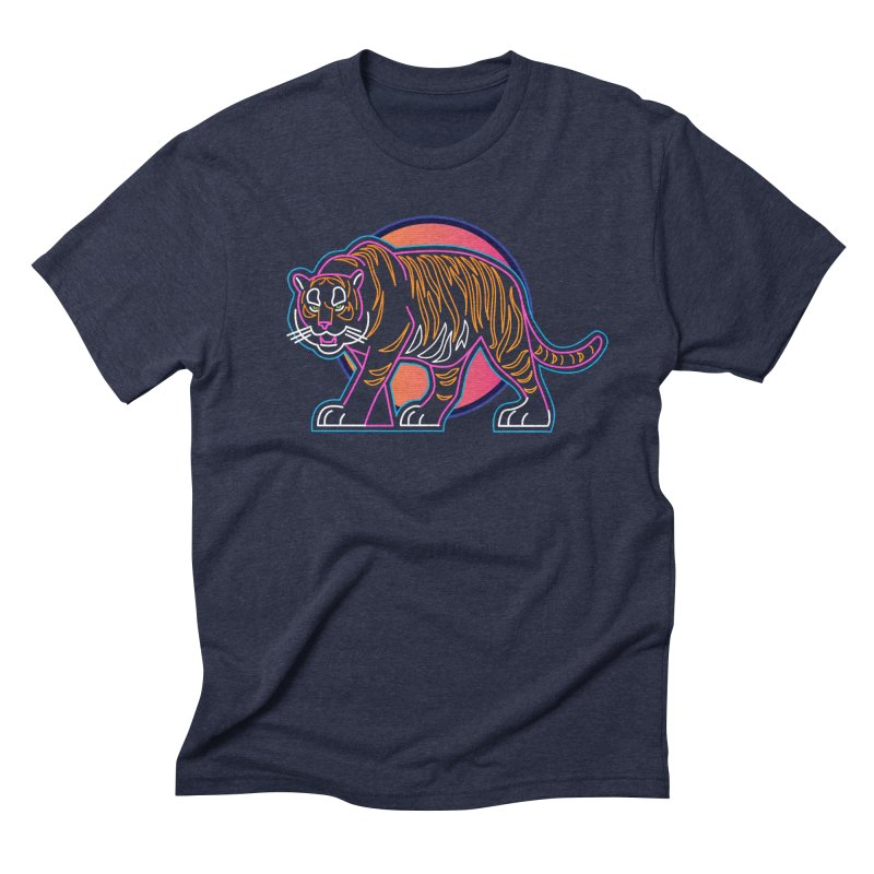 Neon Tiger Men's Triblend T-Shirt by Signalnoise Threadless Store