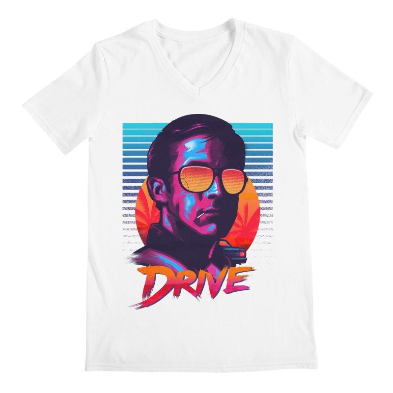 Drive Men's V-Neck by Signalnoise Threadless Store