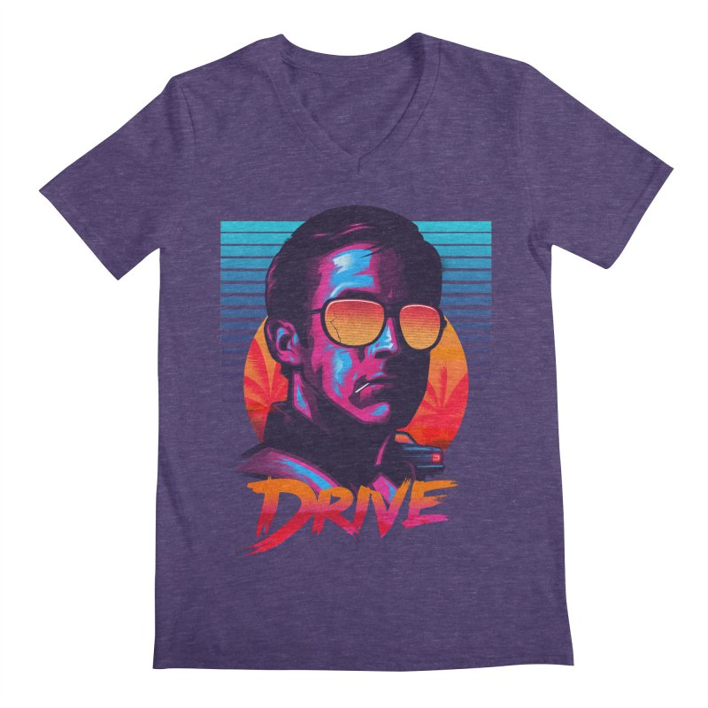 Drive Men's V-Neck by Signalnoise Threadless Store