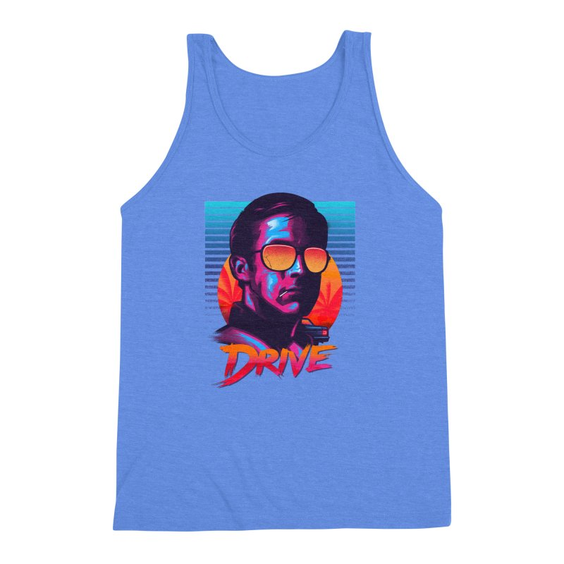 Drive Men's Triblend Tank by Signalnoise Threadless Store