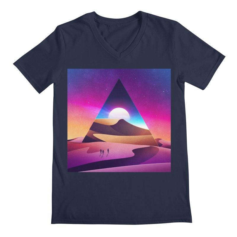NeoWave: Otherwhere Men's V-Neck by Signalnoise Threadless Store