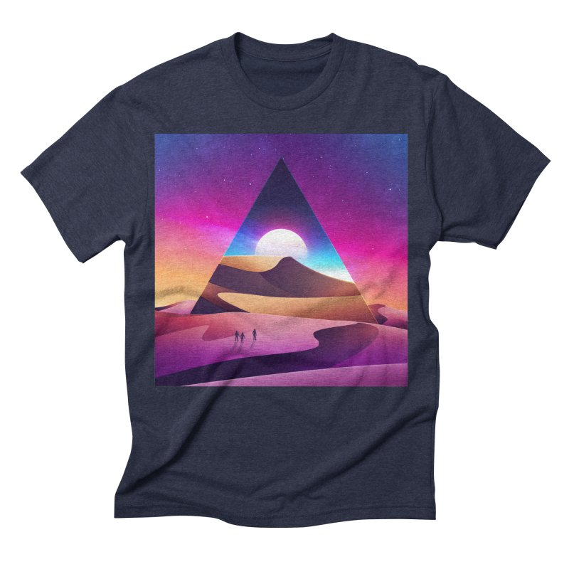 NeoWave: Otherwhere Men's Triblend T-shirt by Signalnoise Threadless Store