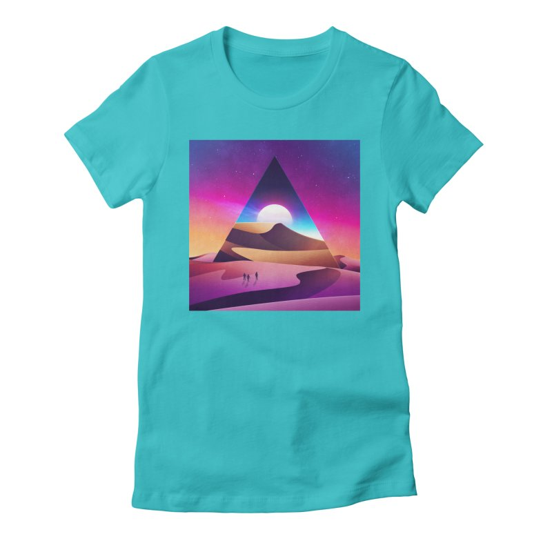 NeoWave: Otherwhere Women's Fitted T-Shirt by Signalnoise Threadless Store