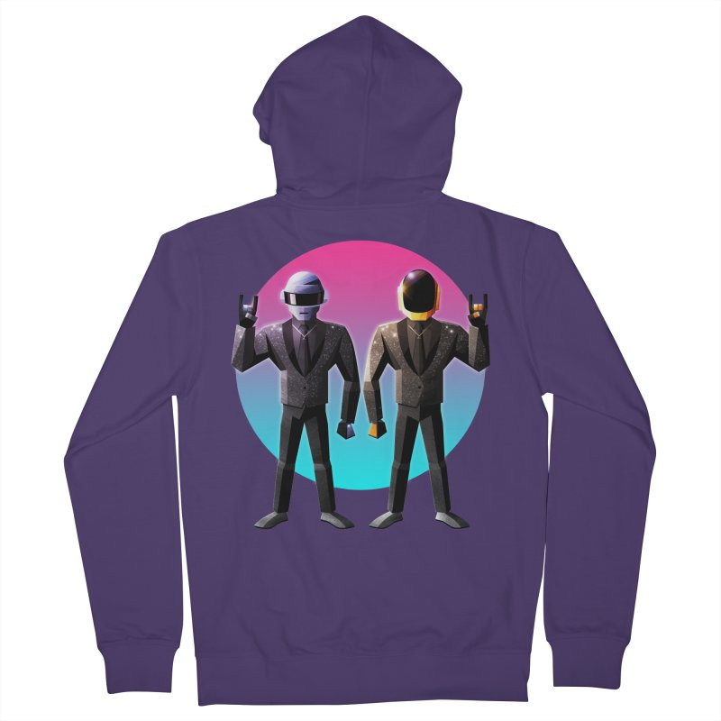 Robot Rock Women's Zip-Up Hoody by Signalnoise Threadless Store