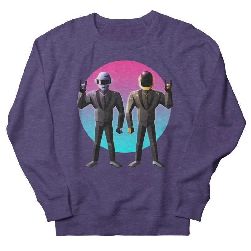 Robot Rock Men's French Terry Sweatshirt by Signalnoise Threadless Store