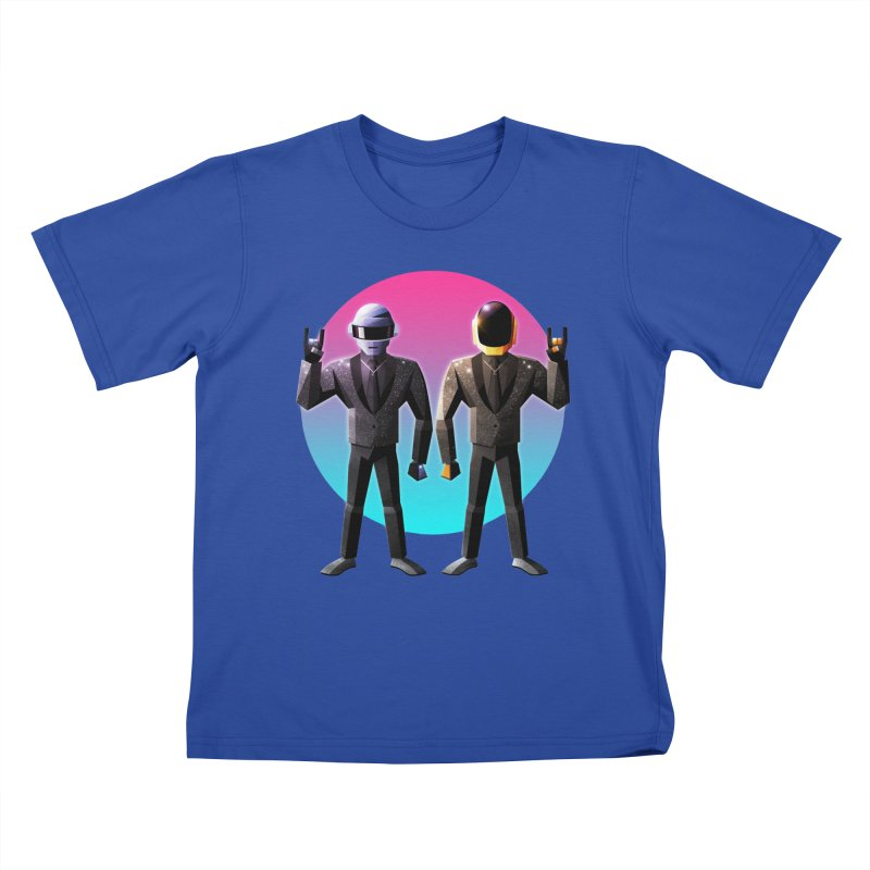 Robot Rock Kids T-Shirt by Signalnoise Threadless Store