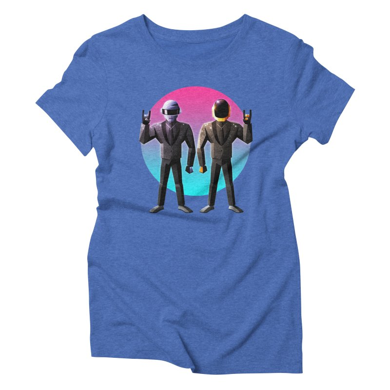 Robot Rock Women's Triblend T-Shirt by Signalnoise Threadless Store