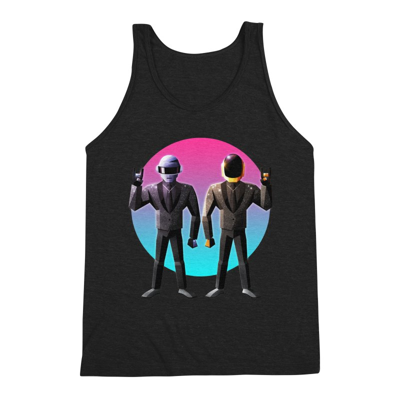 Robot Rock Men's Tank by Signalnoise Threadless Store