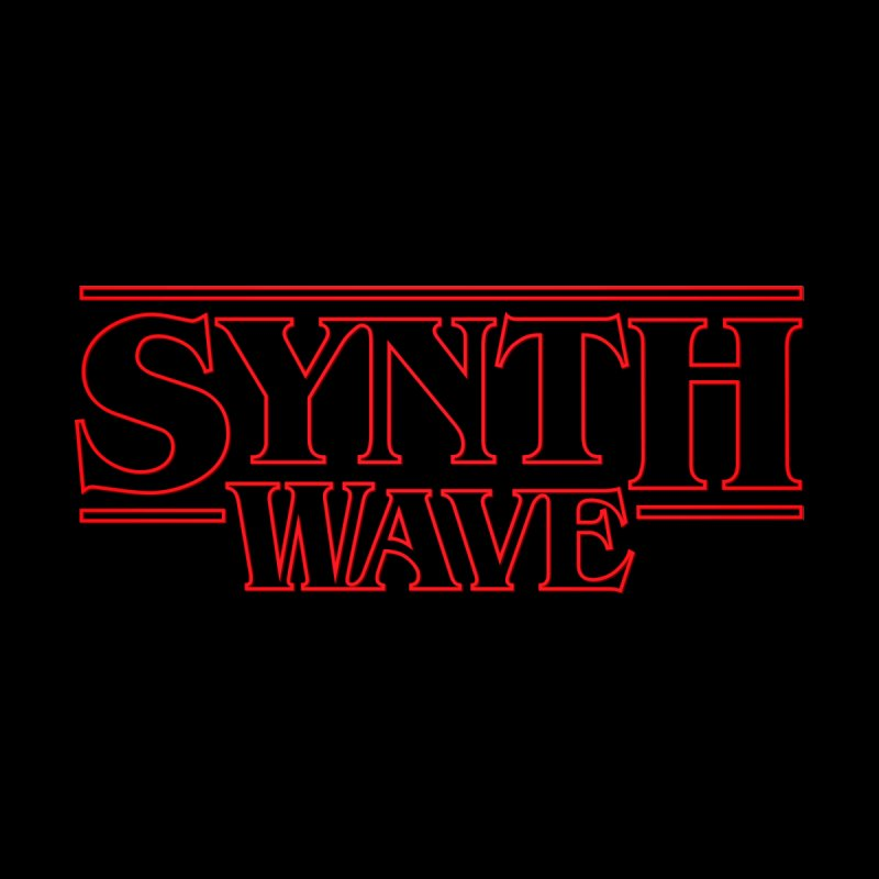 "Stranger ""Synthwave"" Things Men's V-Neck by Signalnoise Threadless Store"