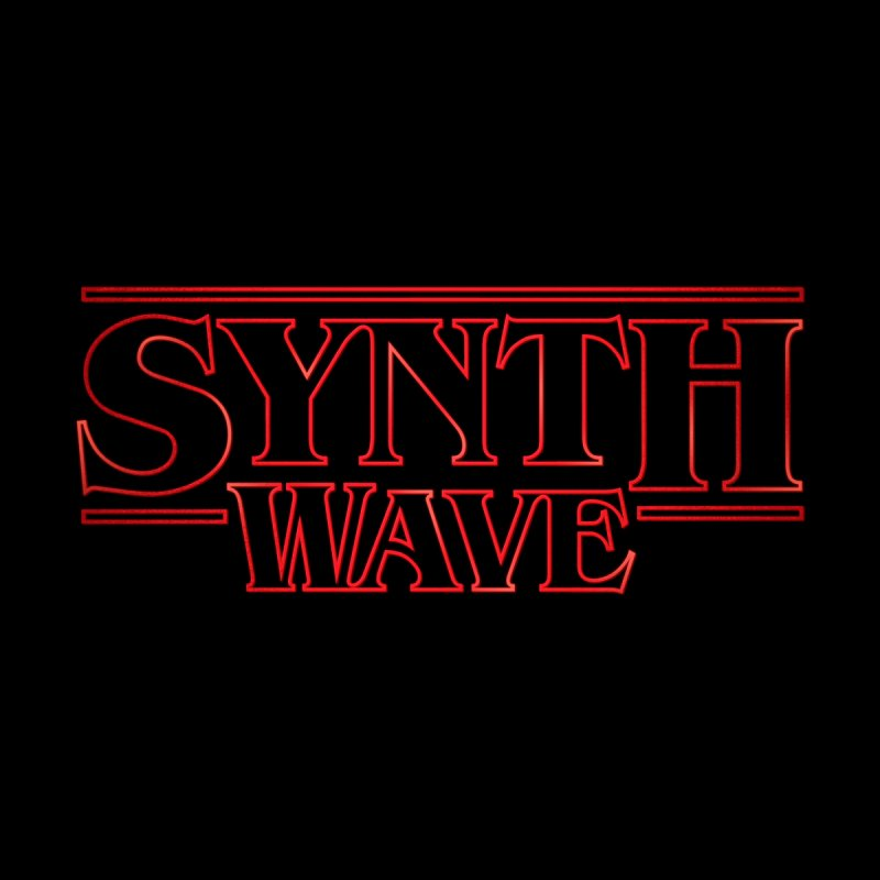 "Stranger ""Synthwave"" Things Men's T-shirt by Signalnoise Threadless Store"