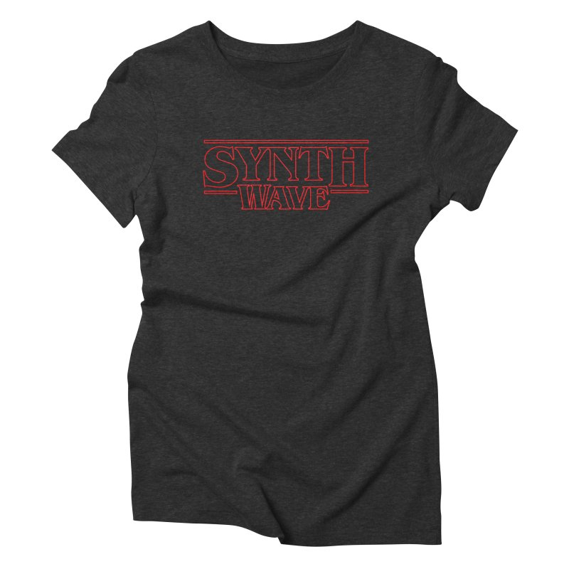 """Stranger """"Synthwave"""" Things Women's T-Shirt by Signalnoise Threadless Store"""