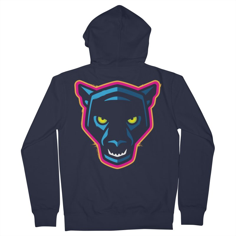 Panther! Women's French Terry Zip-Up Hoody by Signalnoise Threadless Store