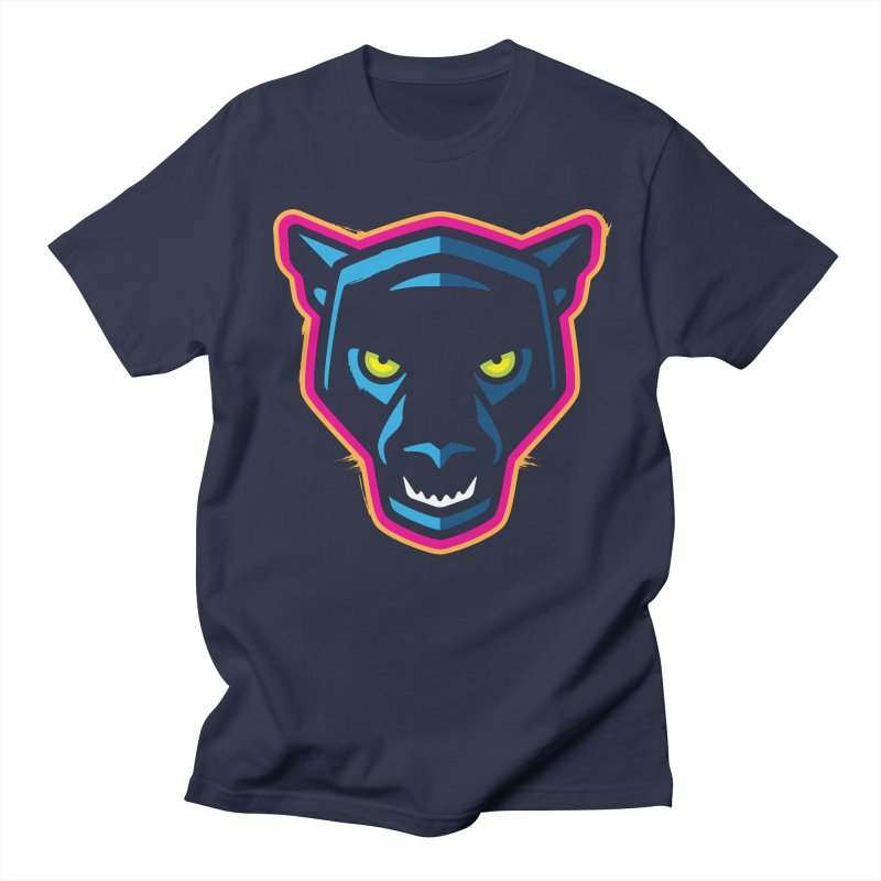 Panther! Men's Regular T-Shirt by Signalnoise Threadless Store