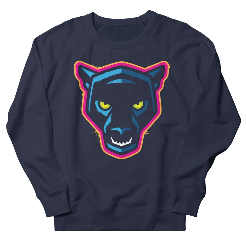 Panther! Men's French Terry Sweatshirt by Signalnoise Threadless Store