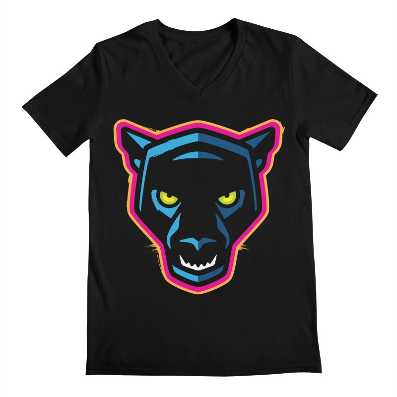Panther! Men's V-Neck by Signalnoise Threadless Store