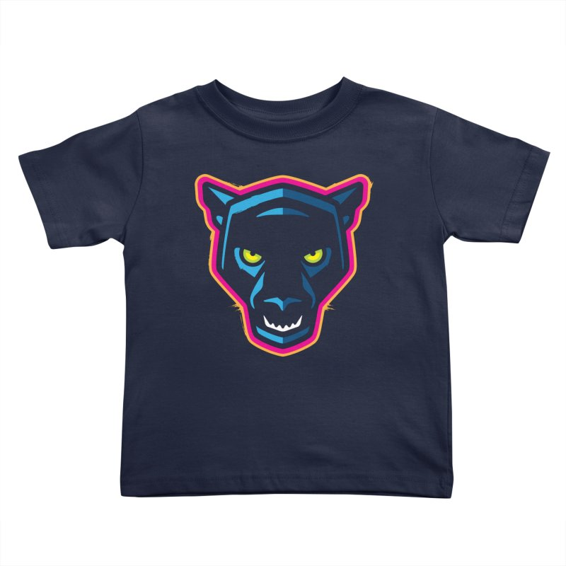 Panther! Kids Toddler T-Shirt by Signalnoise Threadless Store