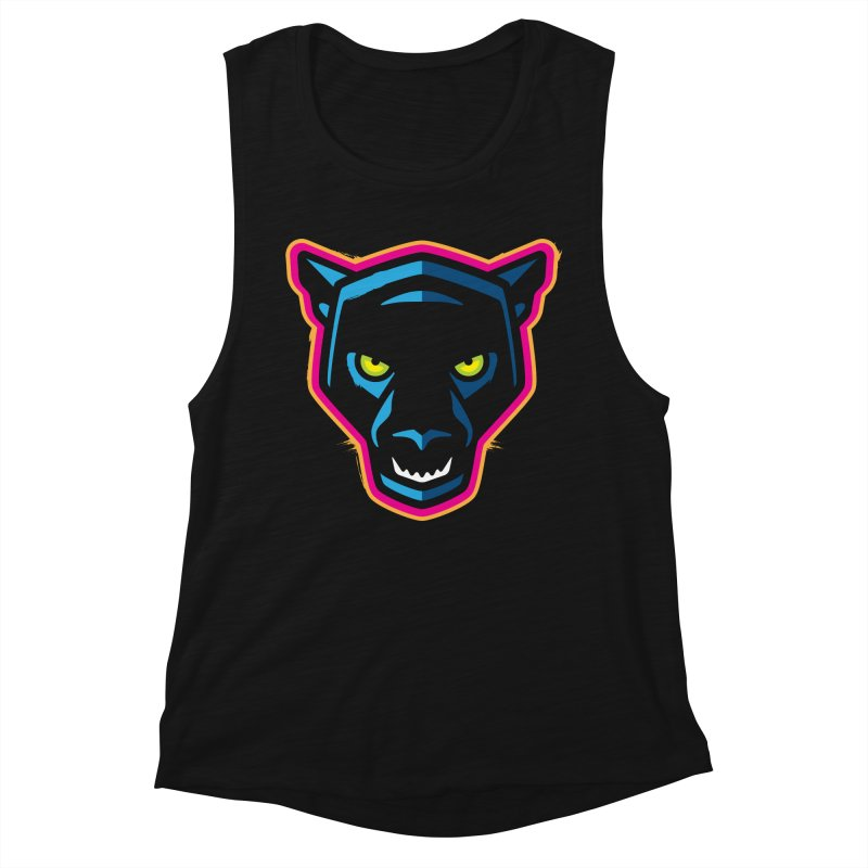 Panther! Women's Tank by Signalnoise Threadless Store