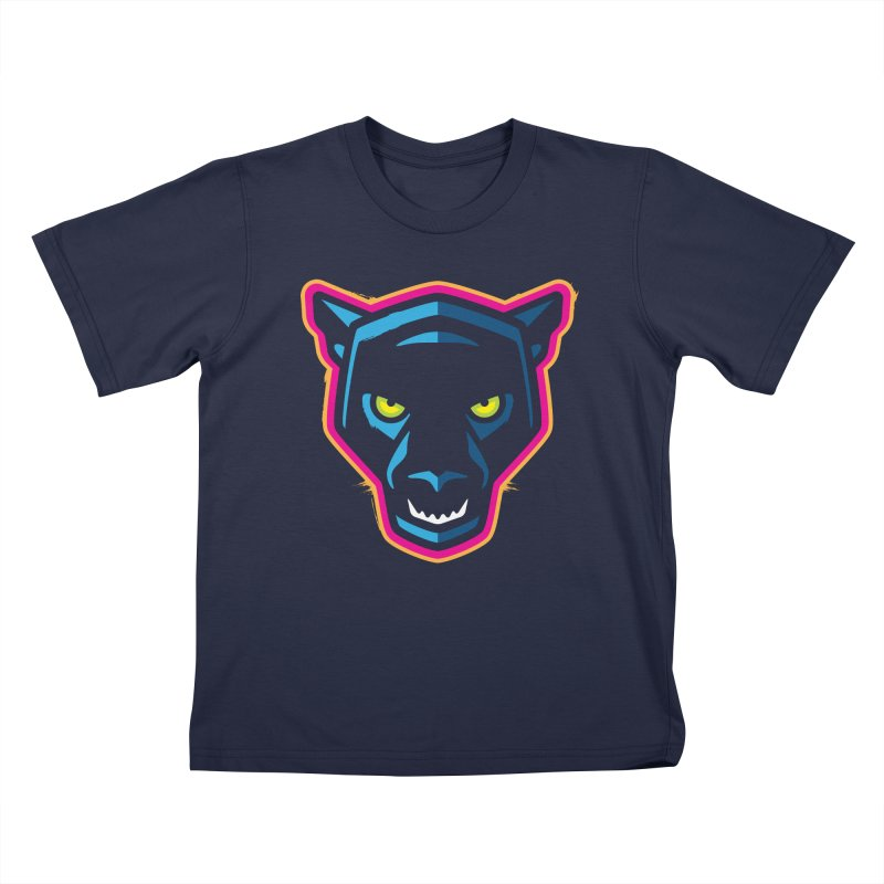 Panther! Kids T-Shirt by Signalnoise Threadless Store