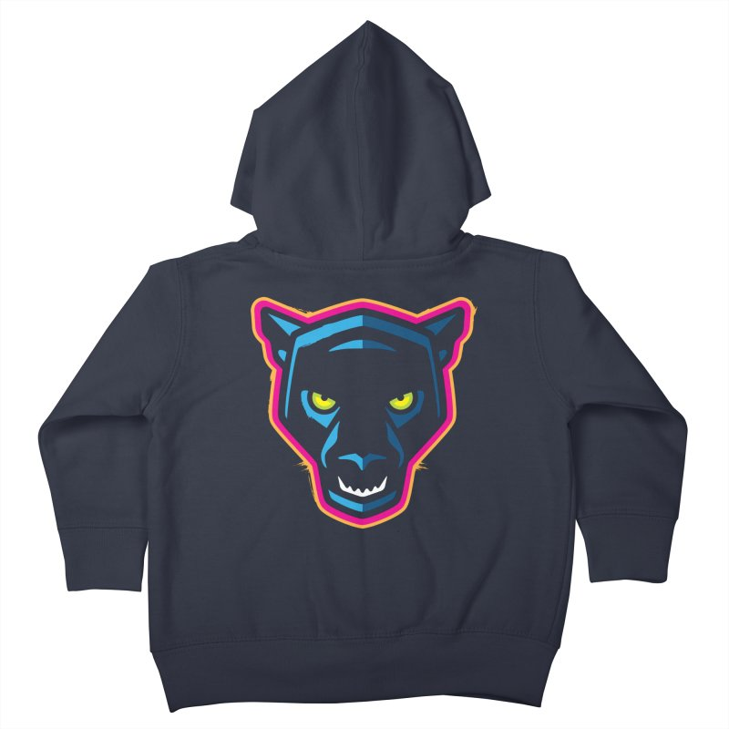 Panther! Kids Toddler Zip-Up Hoody by Signalnoise Threadless Store