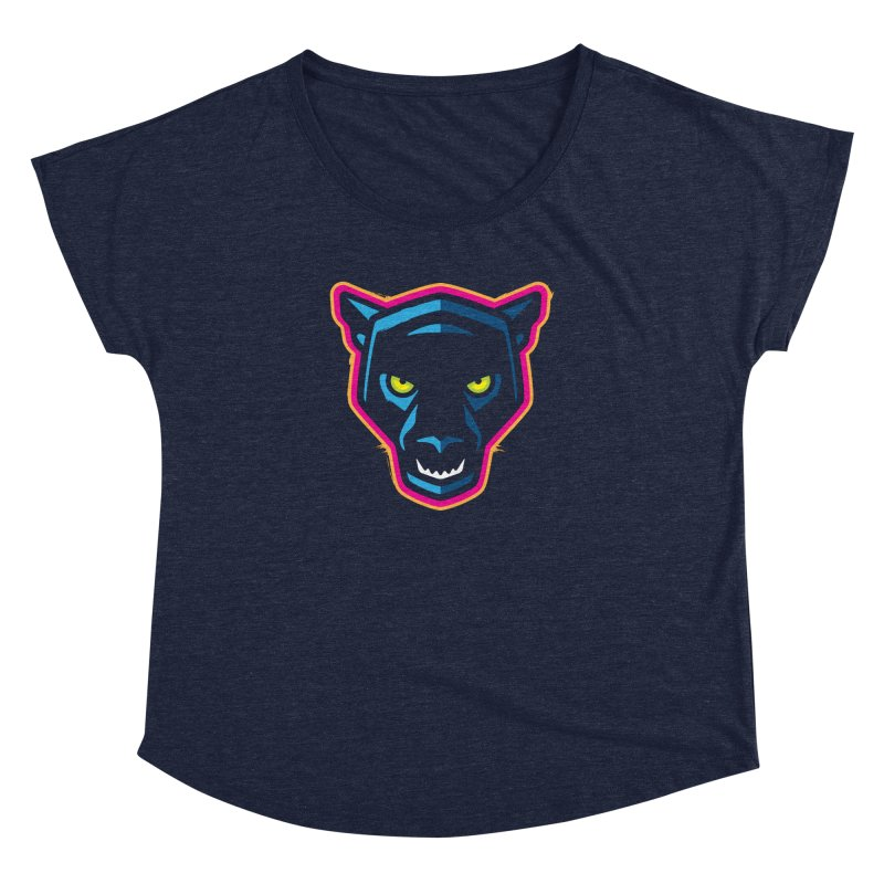 Panther! Women's Scoop Neck by Signalnoise Threadless Store