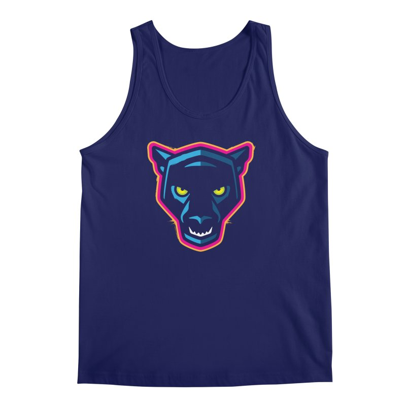 Panther! Men's Regular Tank by Signalnoise Threadless Store