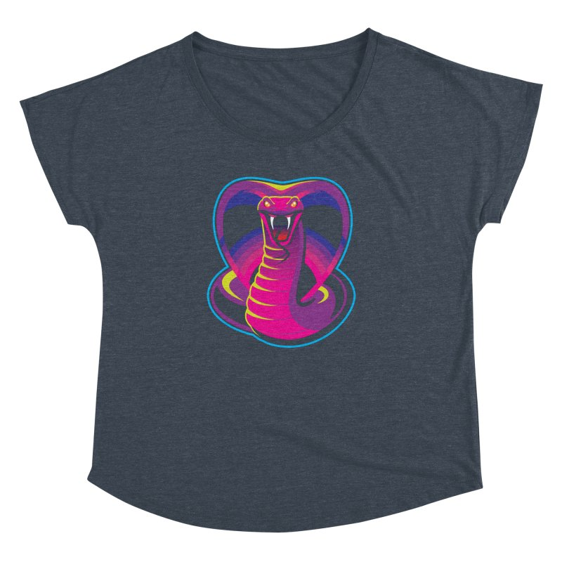 Neon Cobra Women's Dolman Scoop Neck by Signalnoise Threadless Store