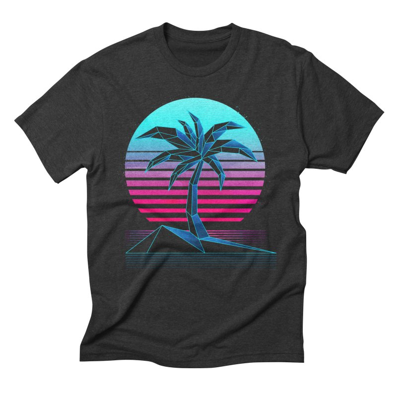 Digital Paradise: Nitro Men's Triblend T-Shirt by Signalnoise Threadless Store