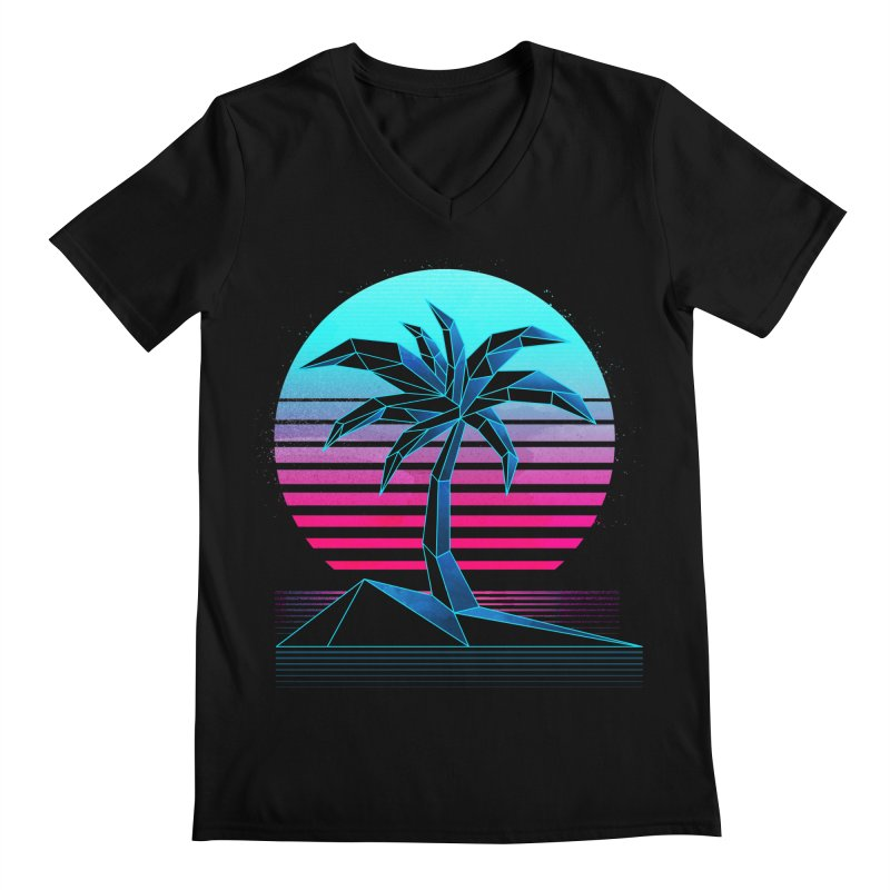 Digital Paradise: Nitro Men's V-Neck by Signalnoise Threadless Store