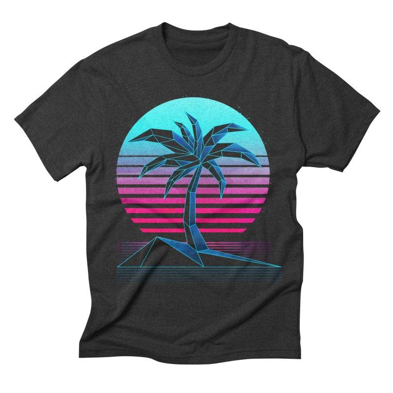Digital Paradise: Nitro Men's Triblend T-shirt by Signalnoise Threadless Store