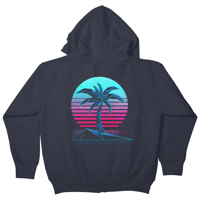 Digital Paradise: Nitro Kids Zip-Up Hoody by Signalnoise Threadless Store