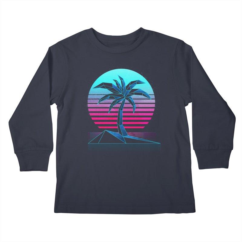 Digital Paradise: Nitro Kids Longsleeve T-Shirt by Signalnoise Threadless Store