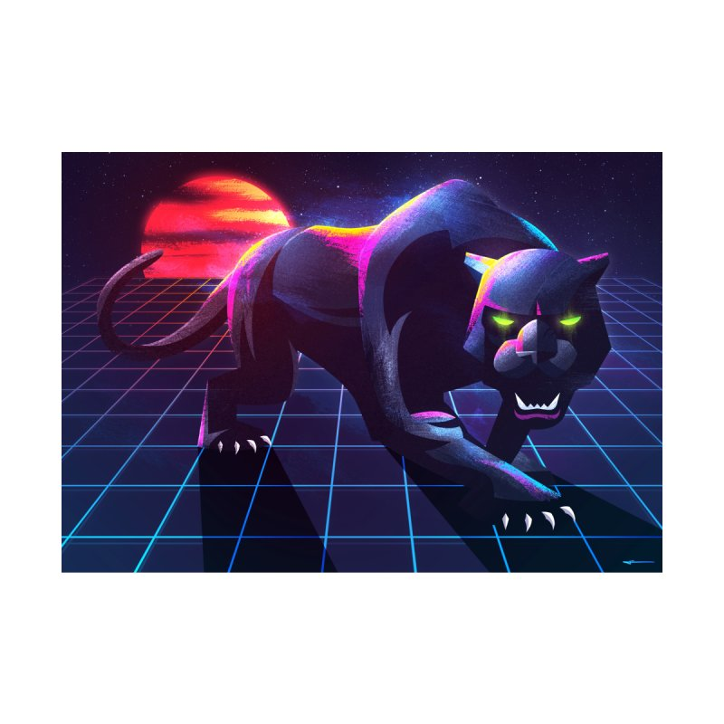 Synth Panther   by Signalnoise Threadless Store