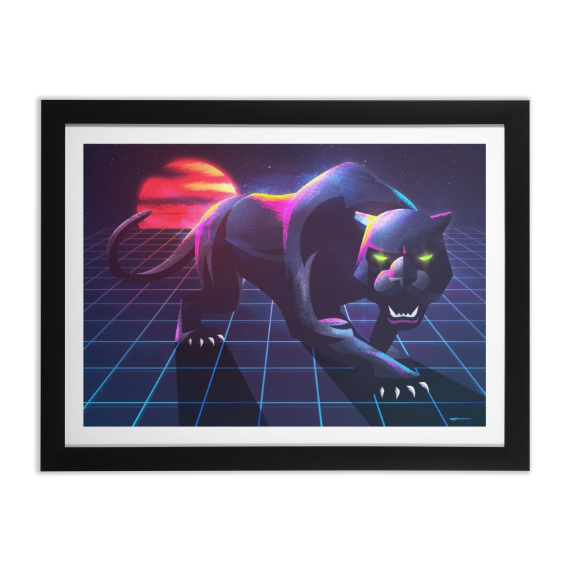 Synth Panther Home by Signalnoise Threadless Store