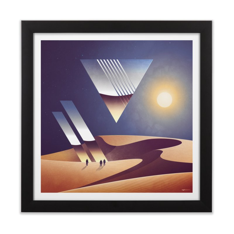 Epitaph Home Framed Fine Art Print by Signalnoise Threadless Store