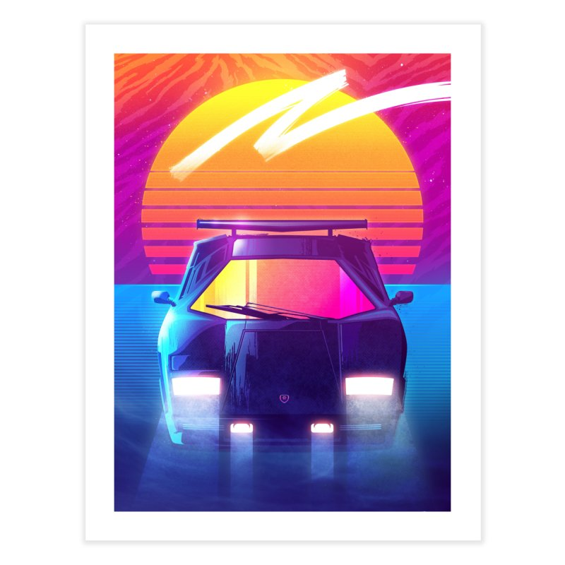 Countach print by Signalnoise Threadless Store