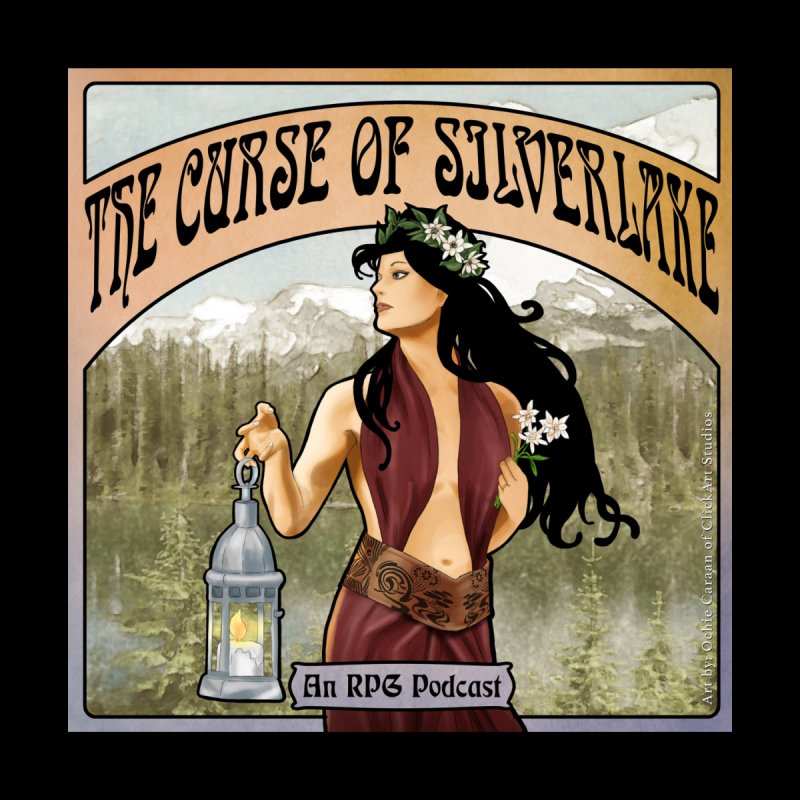 The Lady of Silverlake Cover Art by Silverlake's Artist Shop