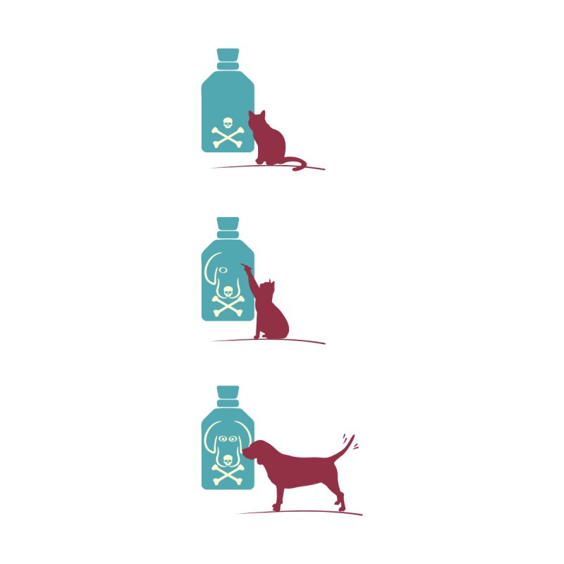 Game of Pets Men's V-Neck by Sinazz's Artist Shop