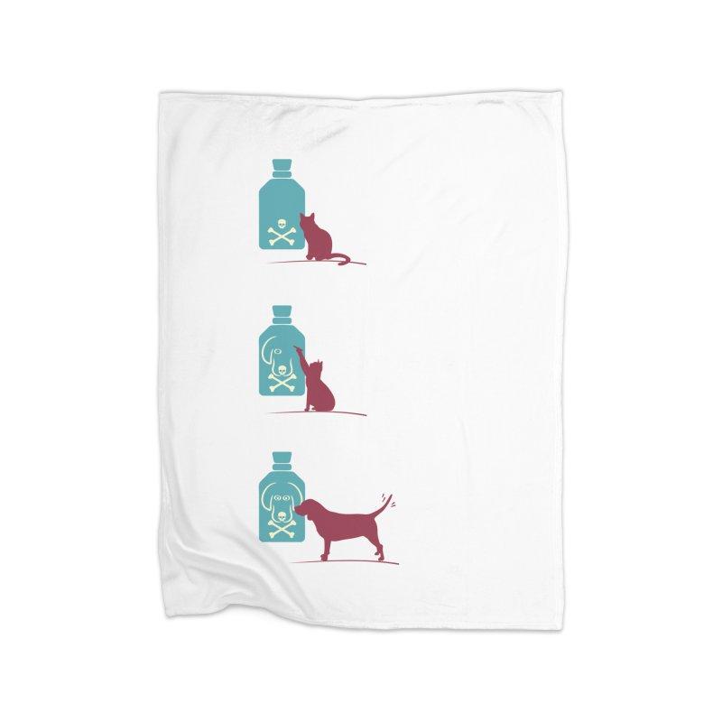 Game of Pets Home Fleece Blanket Blanket by Sinazz's Artist Shop