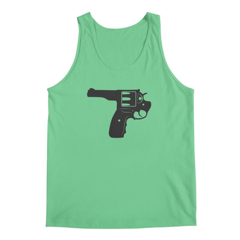 SELFIE GUN Men's Regular Tank by Sinazz's Artist Shop