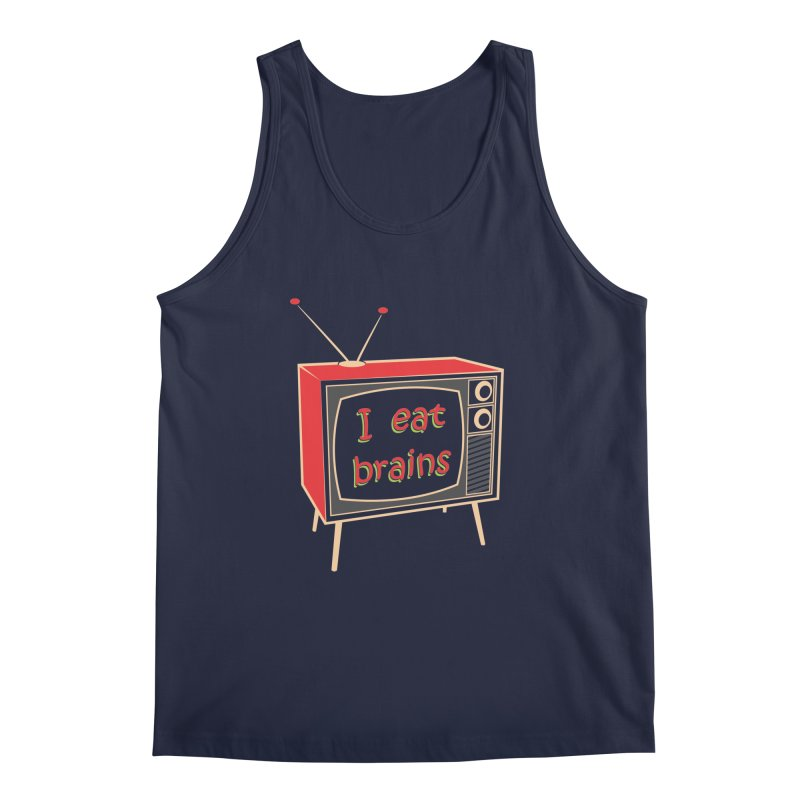 I EAT BRAINS Men's Regular Tank by Sinazz's Artist Shop