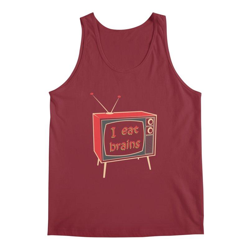 I EAT BRAINS Men's Regular Tank by Sinazz's Artist Shop