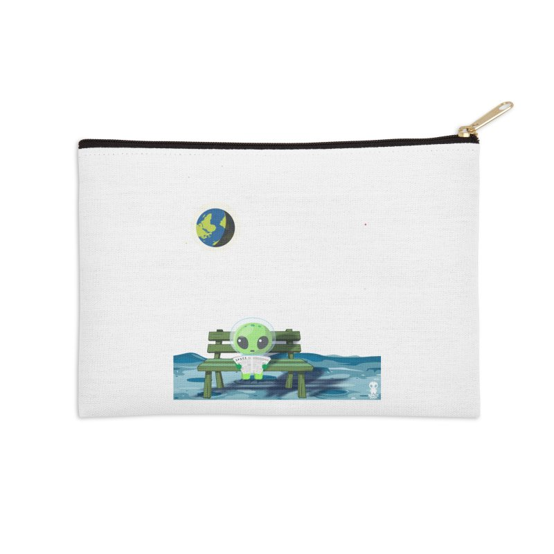 ALONE Accessories Zip Pouch by Sinazz's Artist Shop