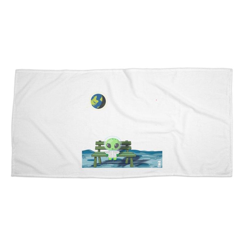 ALONE Accessories Beach Towel by Sinazz's Artist Shop