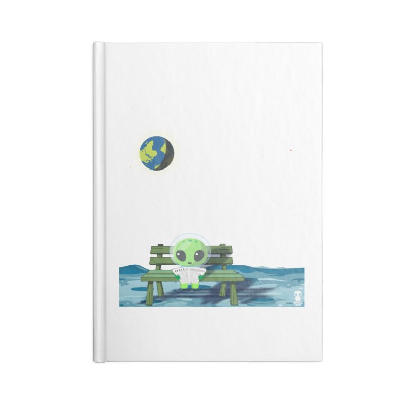 ALONE Accessories Blank Journal Notebook by Sinazz's Artist Shop