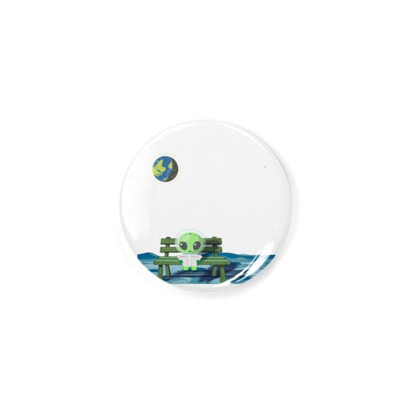 ALONE Accessories Button by Sinazz's Artist Shop