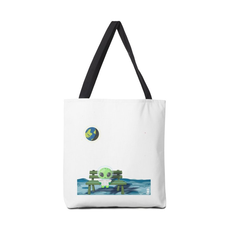 ALONE Accessories Tote Bag Bag by Sinazz's Artist Shop