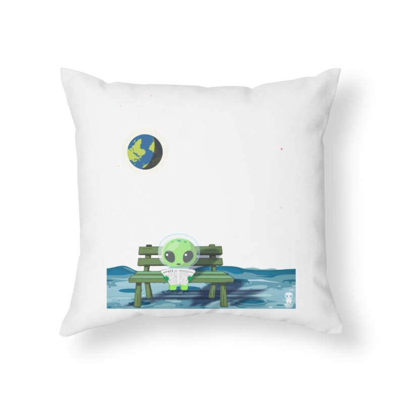 ALONE Home Throw Pillow by Sinazz's Artist Shop