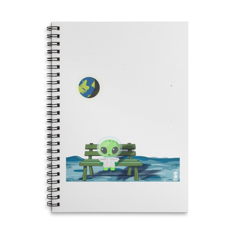 ALONE Accessories Notebook by Sinazz's Artist Shop