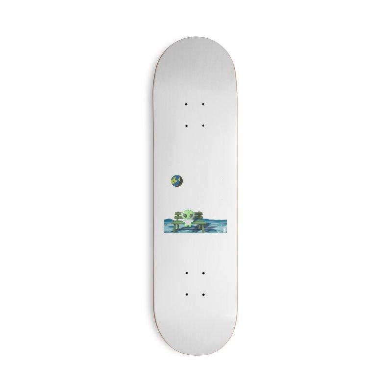 ALONE Accessories Skateboard by Sinazz's Artist Shop